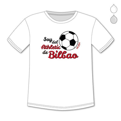 Camiseta Divertida Niño Soy del Athletic de Bilbao