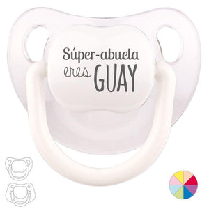 Chupete Baby o Clásico Super Abuela eres Guay - PequeStyle