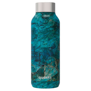 Quokka Botella Acero Inoxidable Solid Blue Rock 510 ml - PequeStyle