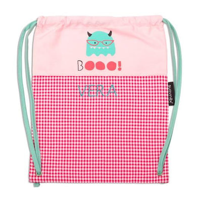 Petate Guardería Booo Rosa Personalizable - PequeStyle
