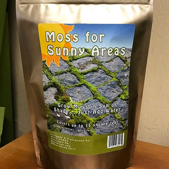Sun Moss Fragments Covers 15 Sq.Ft
