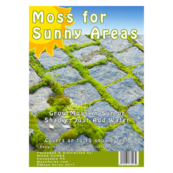 Sun Moss Retail Pack  - Case (12 - Bags)