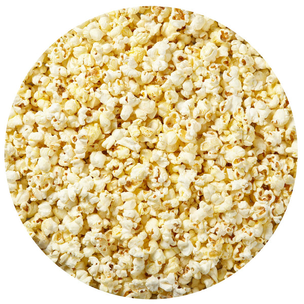 This is a swatch showing butter popcorn.