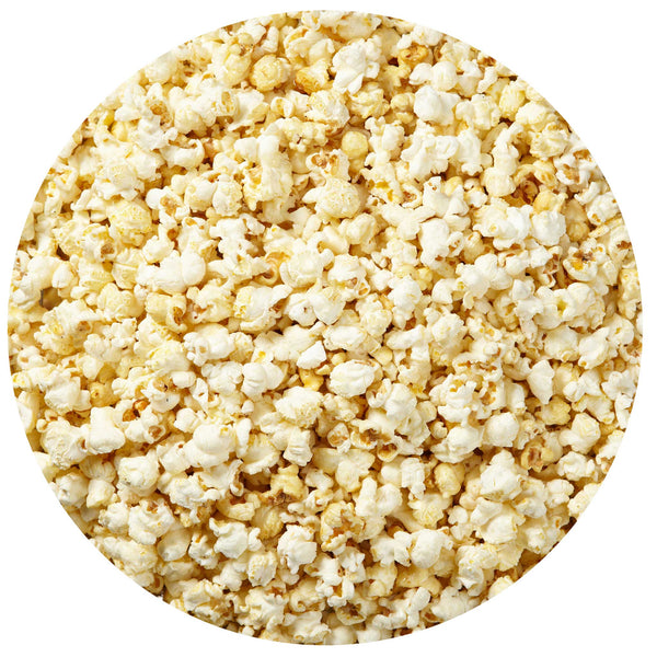 This is a swatch showing sweet kettle popcorn.