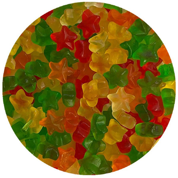 Mini Gummy Stars 5 lb. Bulk Bag