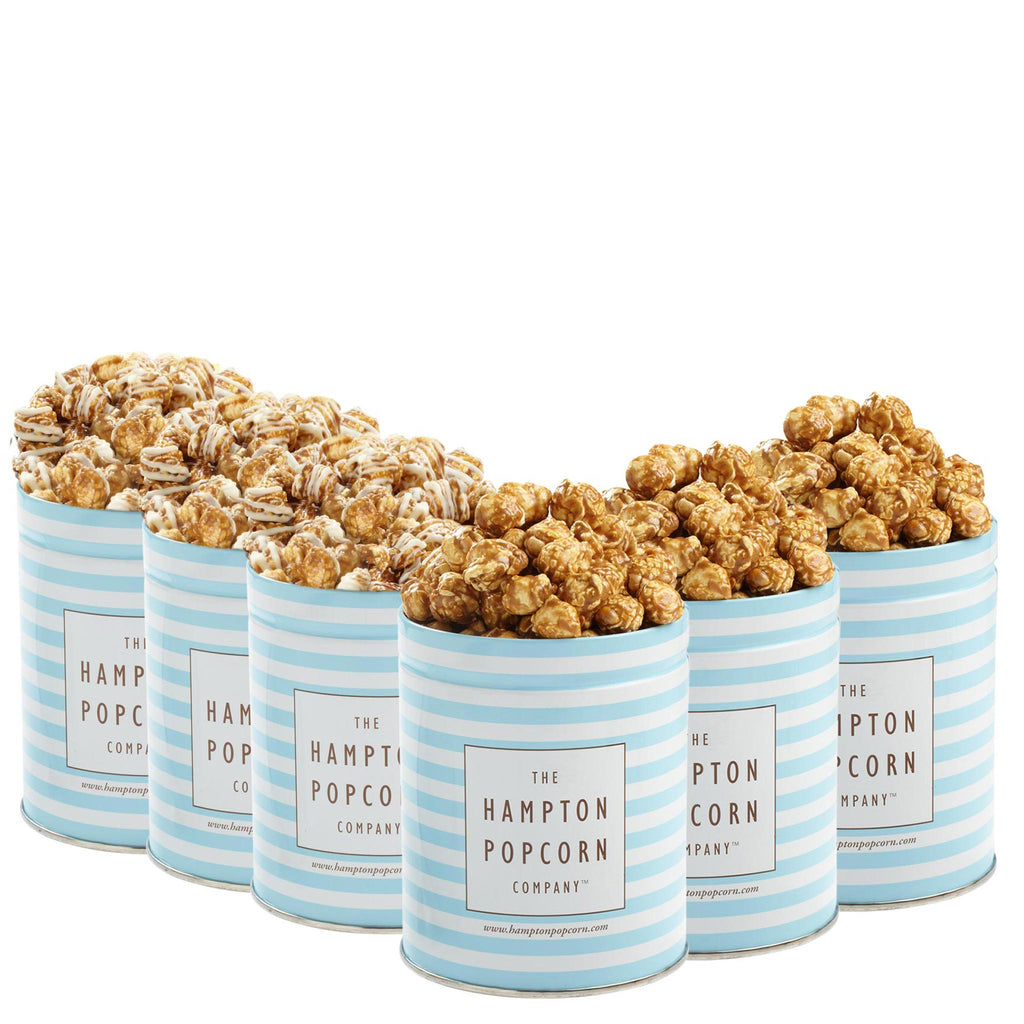 Harvest Bundle Quart Popcorn Tins