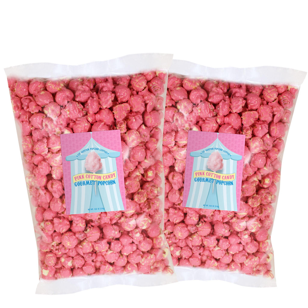 Pink Cotton Candy Pillow Bags