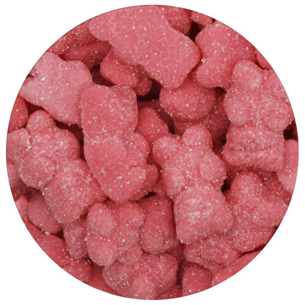 Strawberry Sugared Bears 5 lb. Bag