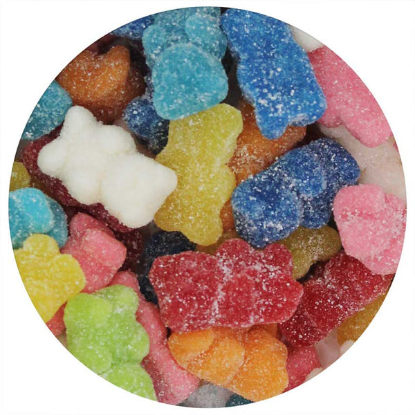 Rainbow Sugared Bears 5 lb. Bag