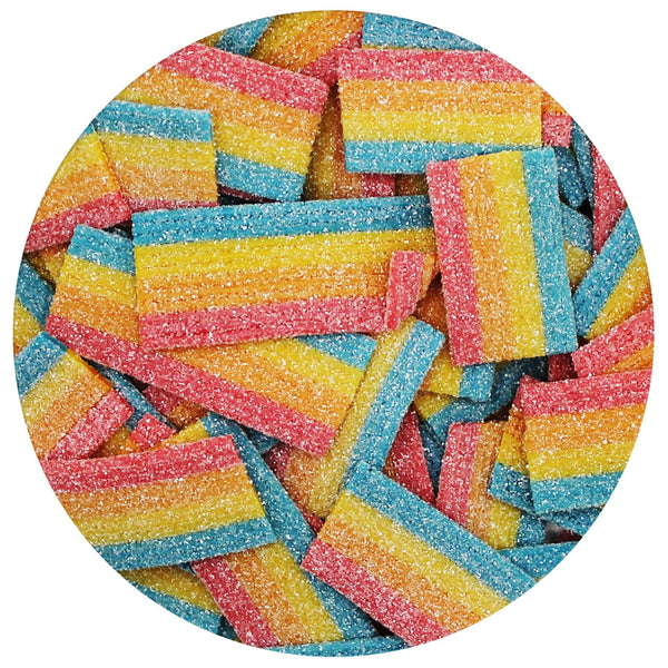 Rainbow Bites Zip Bag
