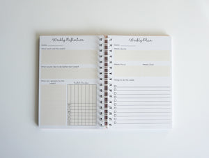 Weekly Undated Planner