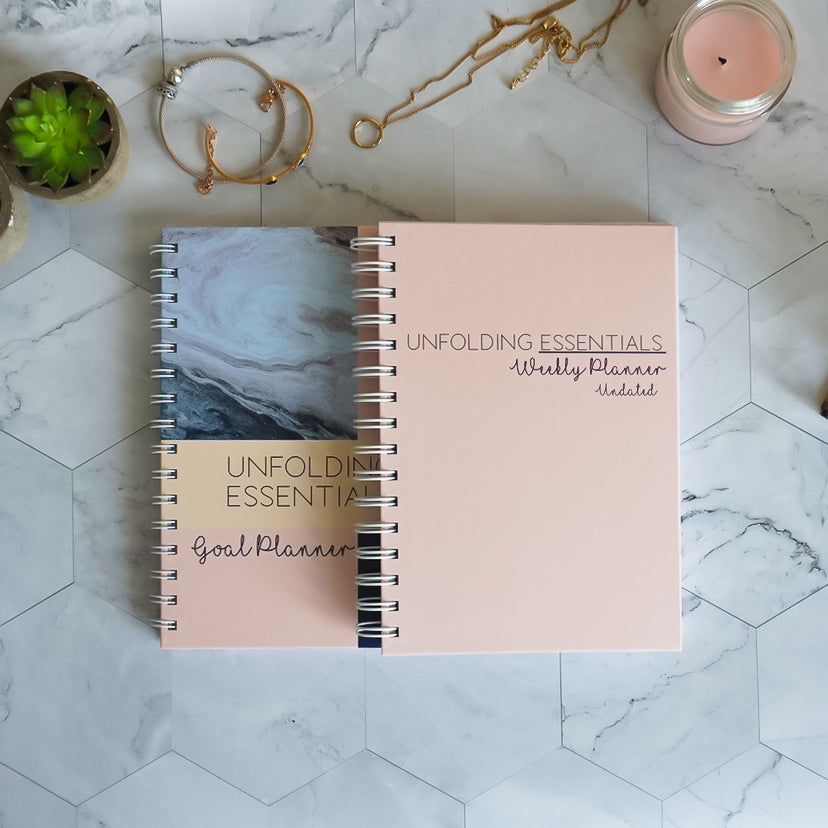 Goal and Weekly Planner Bundle
