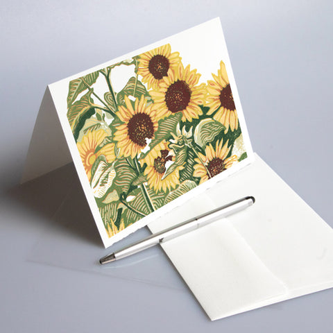 Sunflower Patch Card