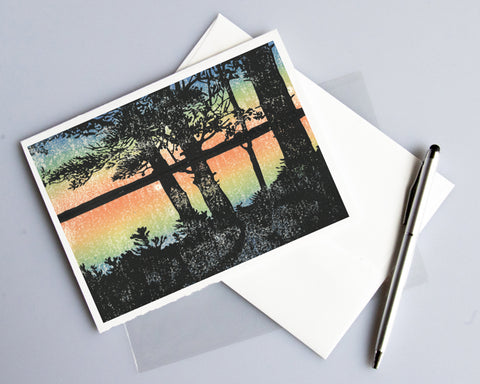 Sunset Card