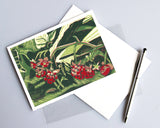Wild Raspberries Card