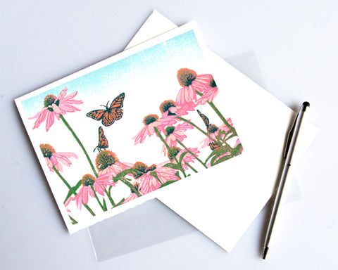 Coneflower Patch Card