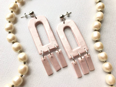 Blush Window Aveline Bridal Earrings