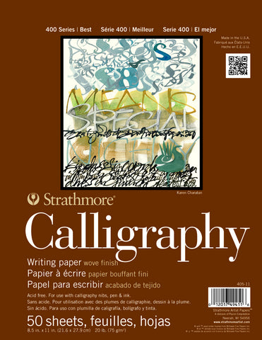 Strathmore Calligraphy Writing Paper Pad