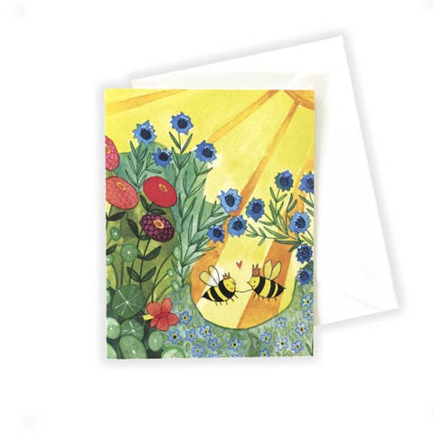 Love Bees Notecard
