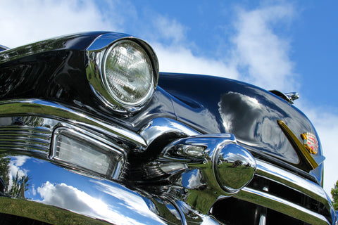 1955 Cadillac photograph by Barry Kluczyk