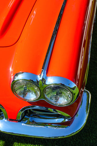 1959 Corvette photograph by Barry Kluczyk