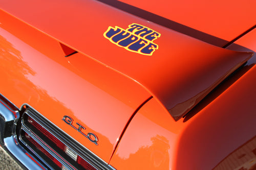 1969 GTO Judge photograph by Barry Kluczyk