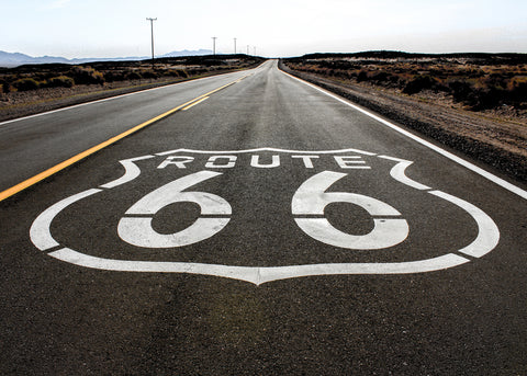 Old Route 66 photograph by Barry Kluczyk