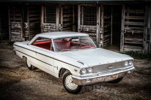 1963-1/2 Ford Galaxie photograph by Barry Kluczyk