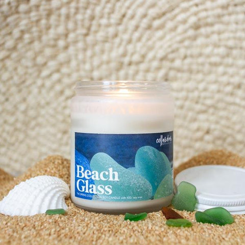 Beach Glass Soy Candle