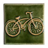 4x4 Bike - Grass Green by Little Traverse Tileworks.