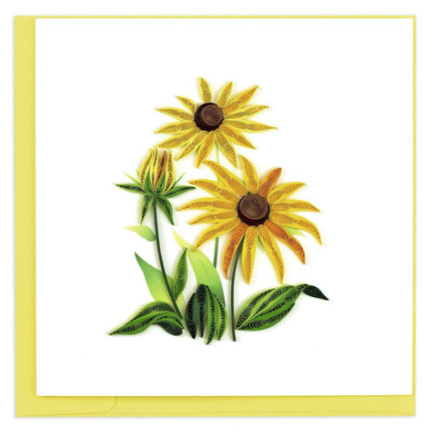 Black-eyed Susan – card