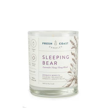 Sleeping Bear 6.5 oz Candle