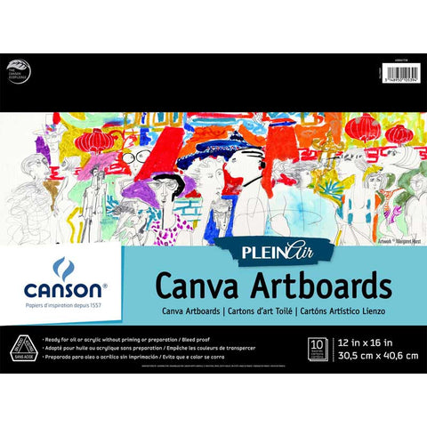 Canson Plein Air Canva Artboard