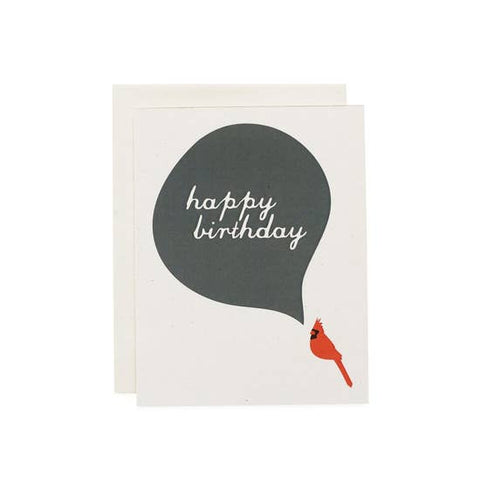 Happy Birthday, Cardinal Card