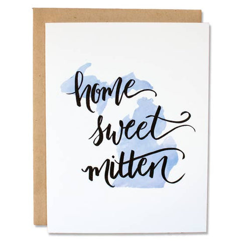 Home Sweet Mitten Greeting Card