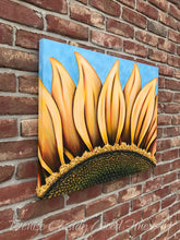 Load image into Gallery viewer, Summer Sunflower painting by Denise Cassidy Wood.
