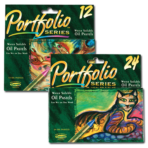 Portfolio Series 12 Water Soluble Oil Pastels