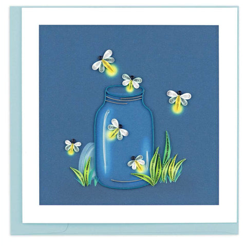 Handcrafted quilled art card that's truly a work of art.  Certified Fair Trade made in Vietnam.