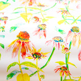 Watercolor gift wrap - Coneflowers
