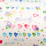 Watercolor gift wrap - Love Mackinac