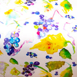 Watercolor gift wrap - grapes