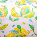 Watercolor gift wrap - lemons
