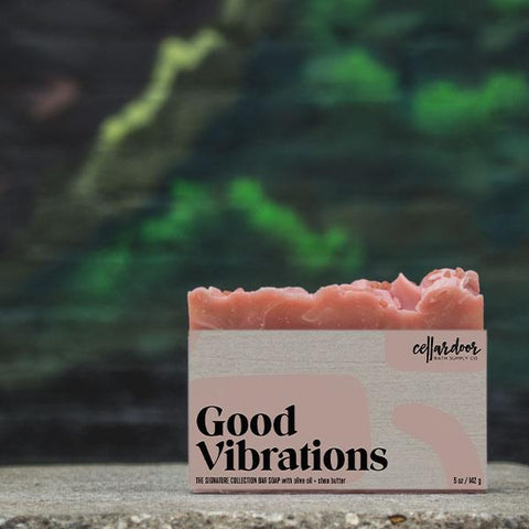 Good Vibrations Bar Soap