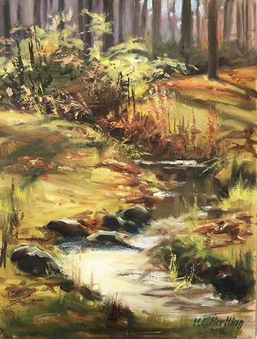 Stream - Plein Air Oil Painting