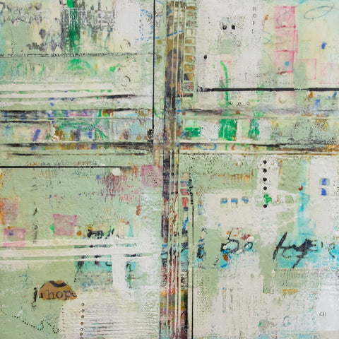 Hope Mixed Media Encaustic Art