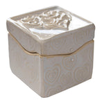 Heart Itty Bitty box by Black Cat Pottery