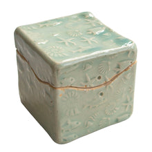 Load image into Gallery viewer, Seaside Itty Bitty box by Black Cat Pottery