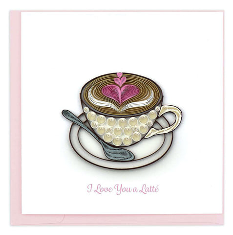 Love Latte – card