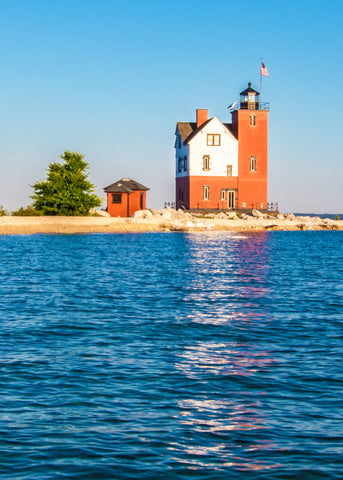 Morning Light & Round Island Lighthouse – photography