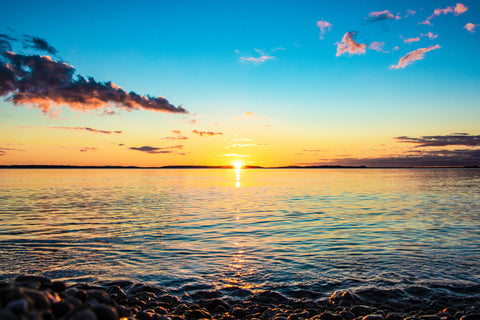 Lake Huron Sunset – photography